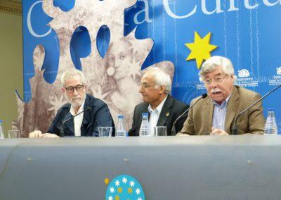 Francisco Blanco, Luis Andrés Marcos y Román Álvarez