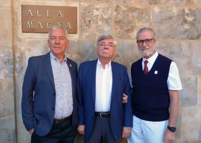 Luis Gutiérrez, Román Álvarez y Francisco Blanco