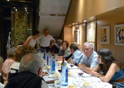 Homenaje Unamuno, comida de fraternidad