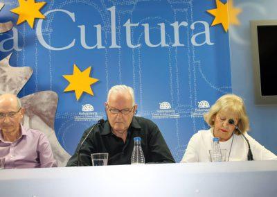 Félix Montes, J.Mª S. Terrones y  Mª Ángeles Gutiérrez