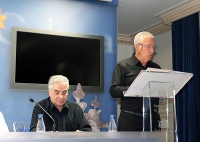 Manuel Andrés y  Luis Gutiérrez