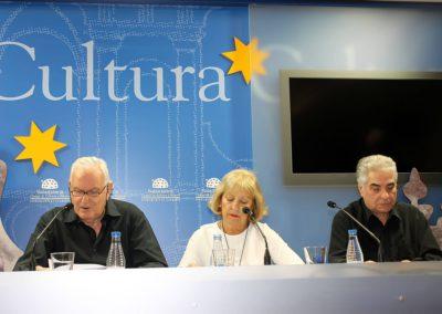 J.Mª S. Terrones, Mª Ángeles Gutiérrez y Manuel Andrés