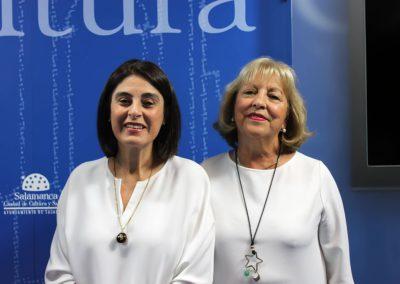 Elena Díaz Santana y Mª Ángeles Gutiérrez Tábara