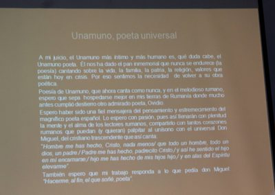 Unamuno y Rumanía