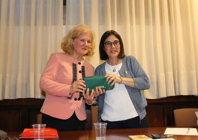 Carmen Bulzan y Elena Díaz Santana