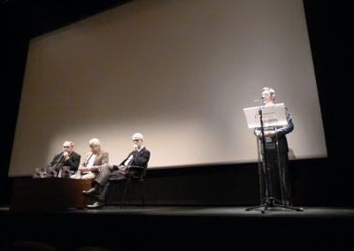 J. Amador Martín, Román Álvarez, Francisco Blanco y Julio P. Revuelta