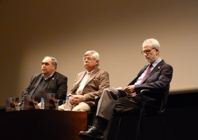 J. Amador Martín, Román Álvarez y Francisco Blanco