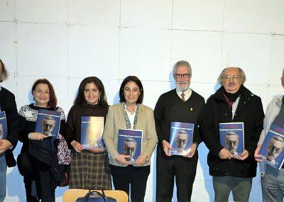 Alfredo P. Alencart, Jaqueline Alencar, Elena Díaz, Francisco Blanco, Antonio Colinas y Luis Gutiérrez