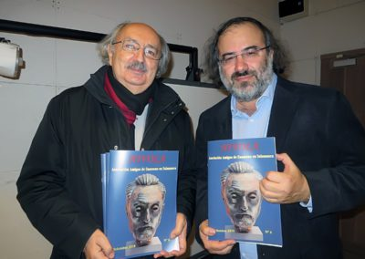 Alfredo Pérez Alencart y Antonio Colinas
