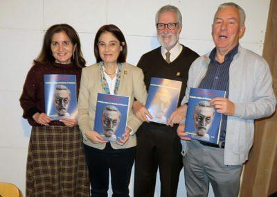 Jaqueline Alencar, Elena Díaz, Francisco Blanco y Luis Gutiérrez