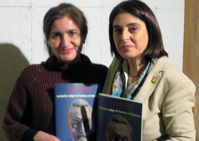 Jaqueline Alencar y Elena Díaz Santana