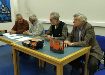 Luis Gutierrez, Luis Andrés, Francisco Blanco y Román Álvarez