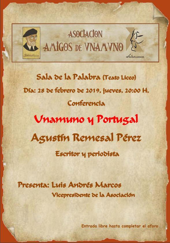 Unamuno y Portugal @ Salamanca   Castilla y León   España