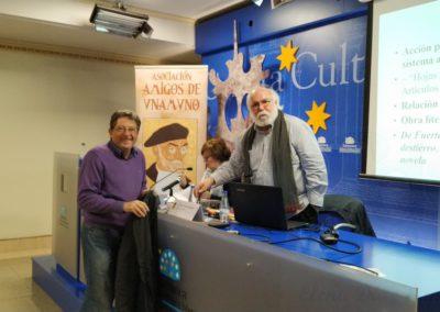 Pablo Unamuno y Félix Maraña Sánchez