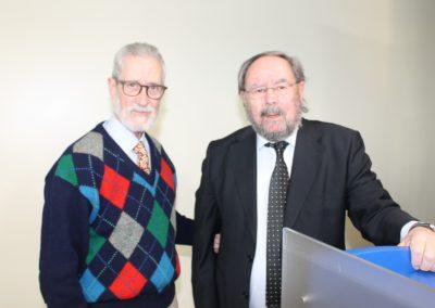 Francisco Blanco Prieto y José Manuel Regalado