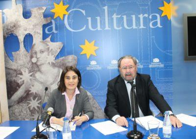 Elena Díaz Santana y José Manuel Regalado