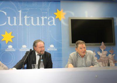 José Manuel Regalado y Pablo unamuno