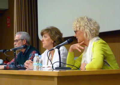 Trancisco Blanco, Isabel Muñoz y Mayte Conesa