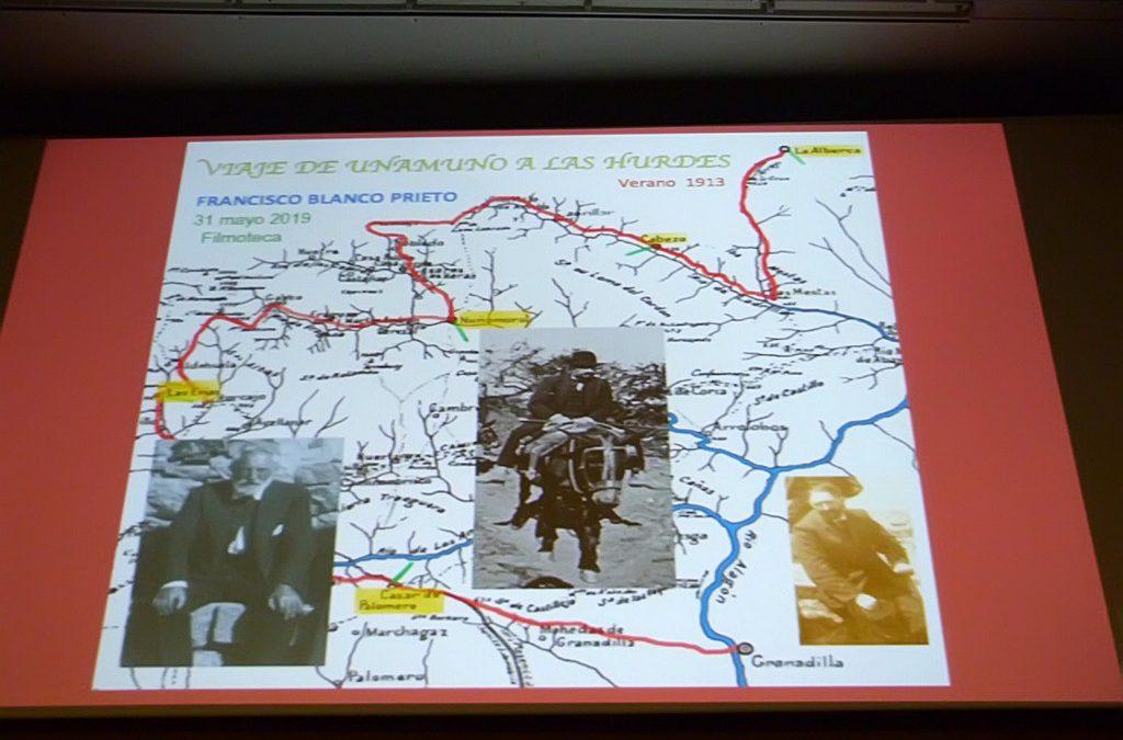 Jornadas Audiovisuales: Viaje de Unamuno a las Hurdes