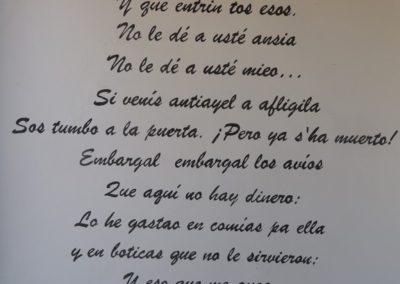 Poema 'El embargo'