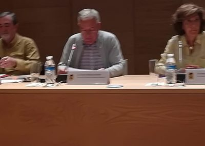 Raimundo Cuesta, Luis Gutiérrez  e Isabel Múñoz