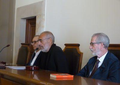 J.A.  Hernández Sayagués, Pollux Hernúñez y Francisco Blanco