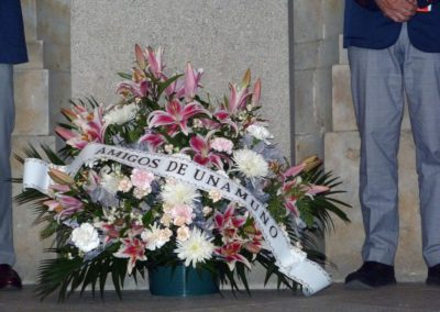Homenaje Floral a Unamuno