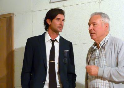 Carlos Javier González Serrano y Luis Gutierrez Barrio