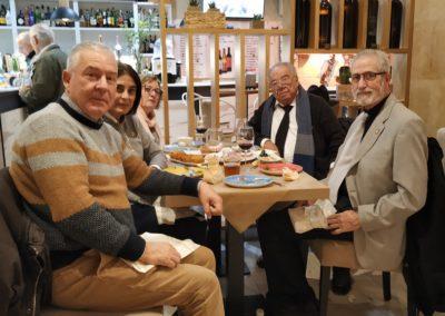 Luis Gutiérrez, Elena Díaz, Pilar Hernández, Ángel García López y Francisco Prieto