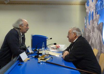 Antonio Colinas y Ángel García López