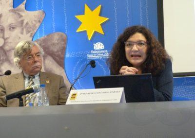 Román Álvarez y Francisca Noguerol
