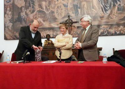 Luis Arias Argüelles-Meres, Ana Chaguaceda y Román Álvarez