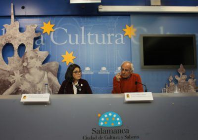 Elena Díaz Santana y Luis Andrés Marcos